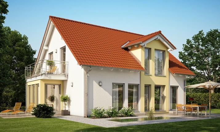 musterhaus solution wien von living fertighaus blaue lagune. Black Bedroom Furniture Sets. Home Design Ideas