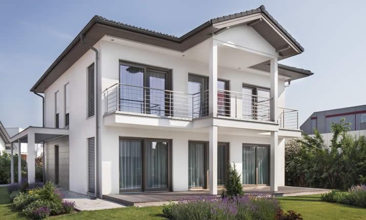musterhaus new design v von vario haus blaue lagune. Black Bedroom Furniture Sets. Home Design Ideas