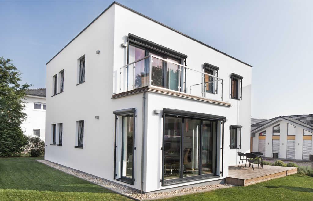 musterhaus genera 150 von haas in der blauen lagune blaue lagune. Black Bedroom Furniture Sets. Home Design Ideas