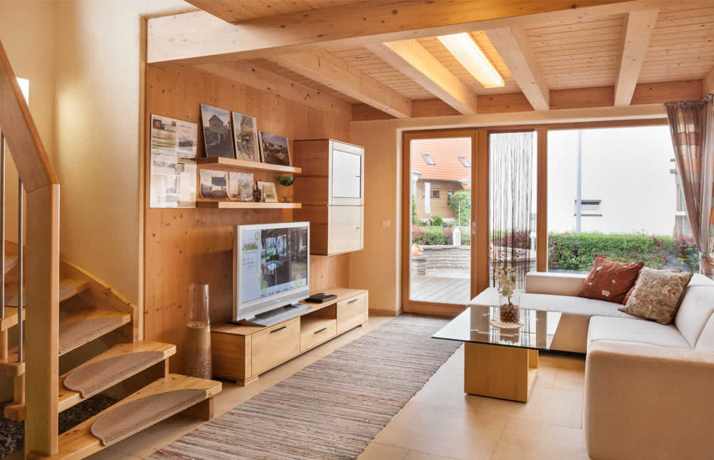 kleingartenhaus jade 01 von pronaturhaus blaue lagune. Black Bedroom Furniture Sets. Home Design Ideas