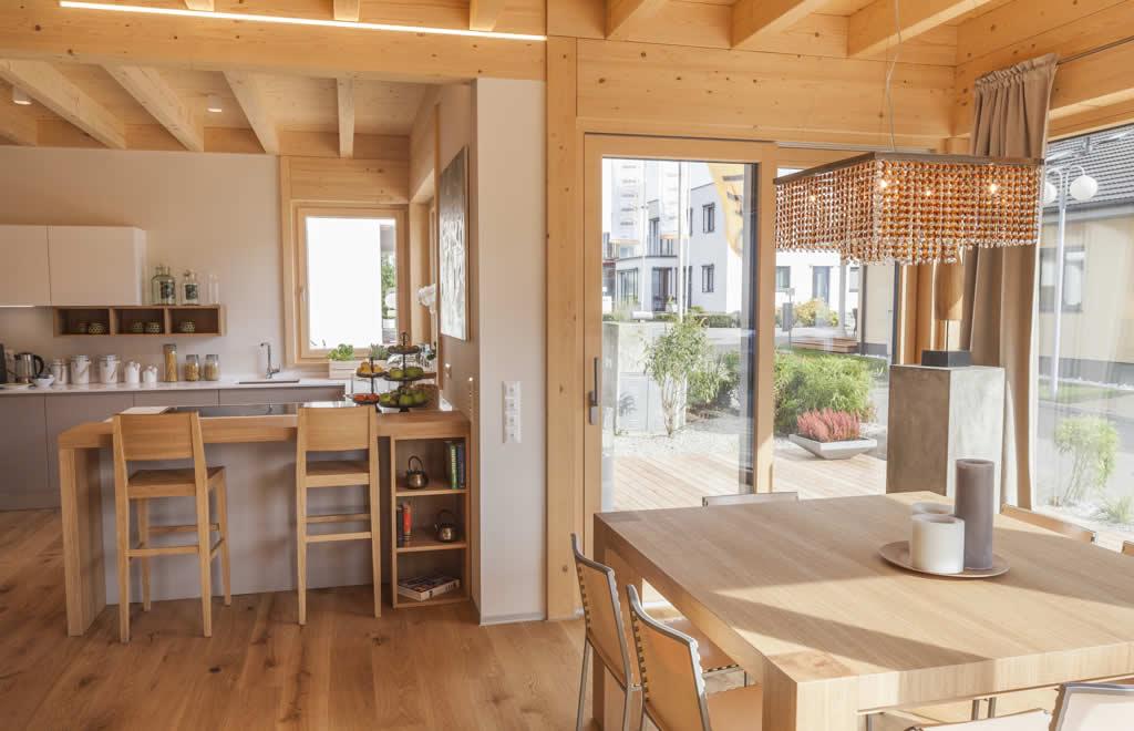 musterhaus classic von griffner in der blauen lagune. Black Bedroom Furniture Sets. Home Design Ideas
